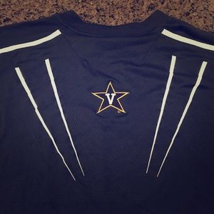 Vanderbilt Men's XL Dri fit shirt